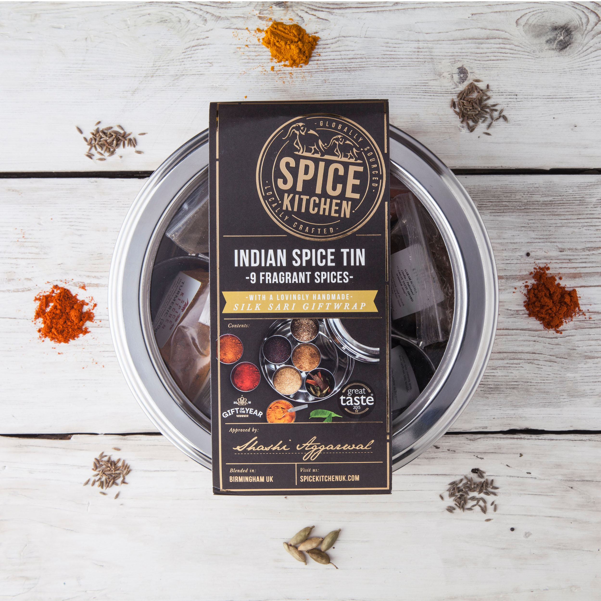 Spice Tin - Indian