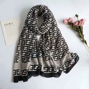 Ladies Scarf (Black & White)