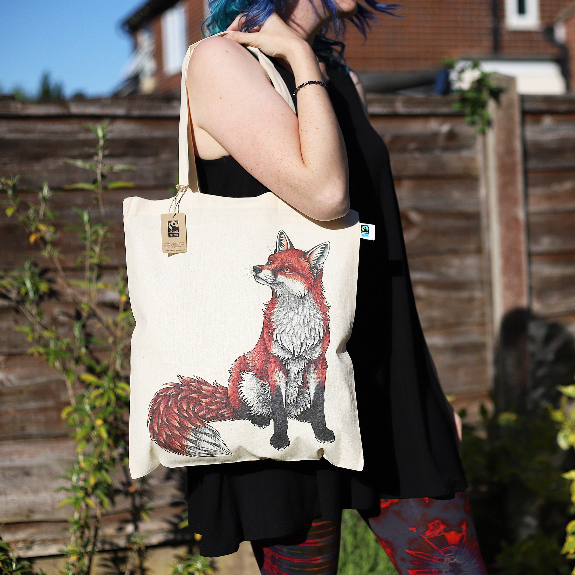 Tote Bag - Red Fox