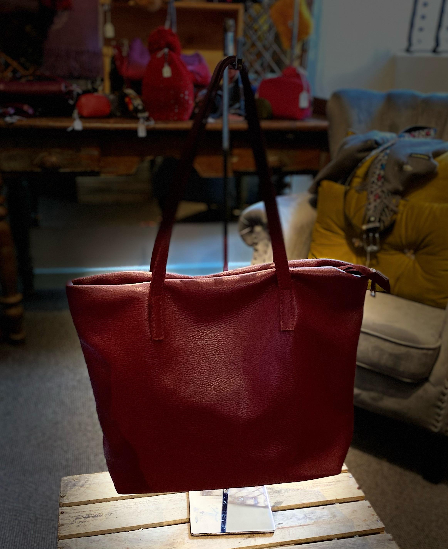 Ladies Italian Leather Handbag