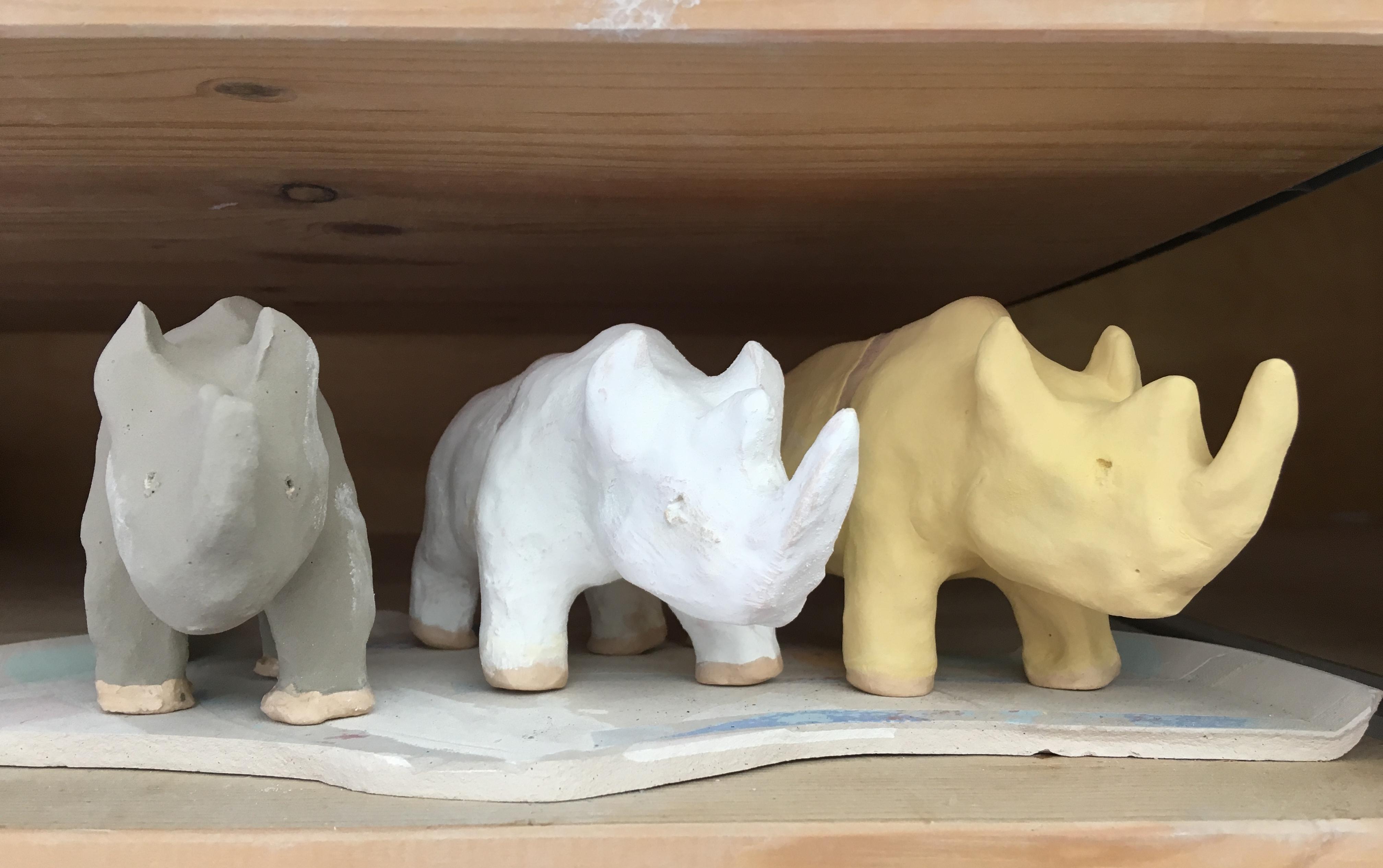 Handmade Rhinos