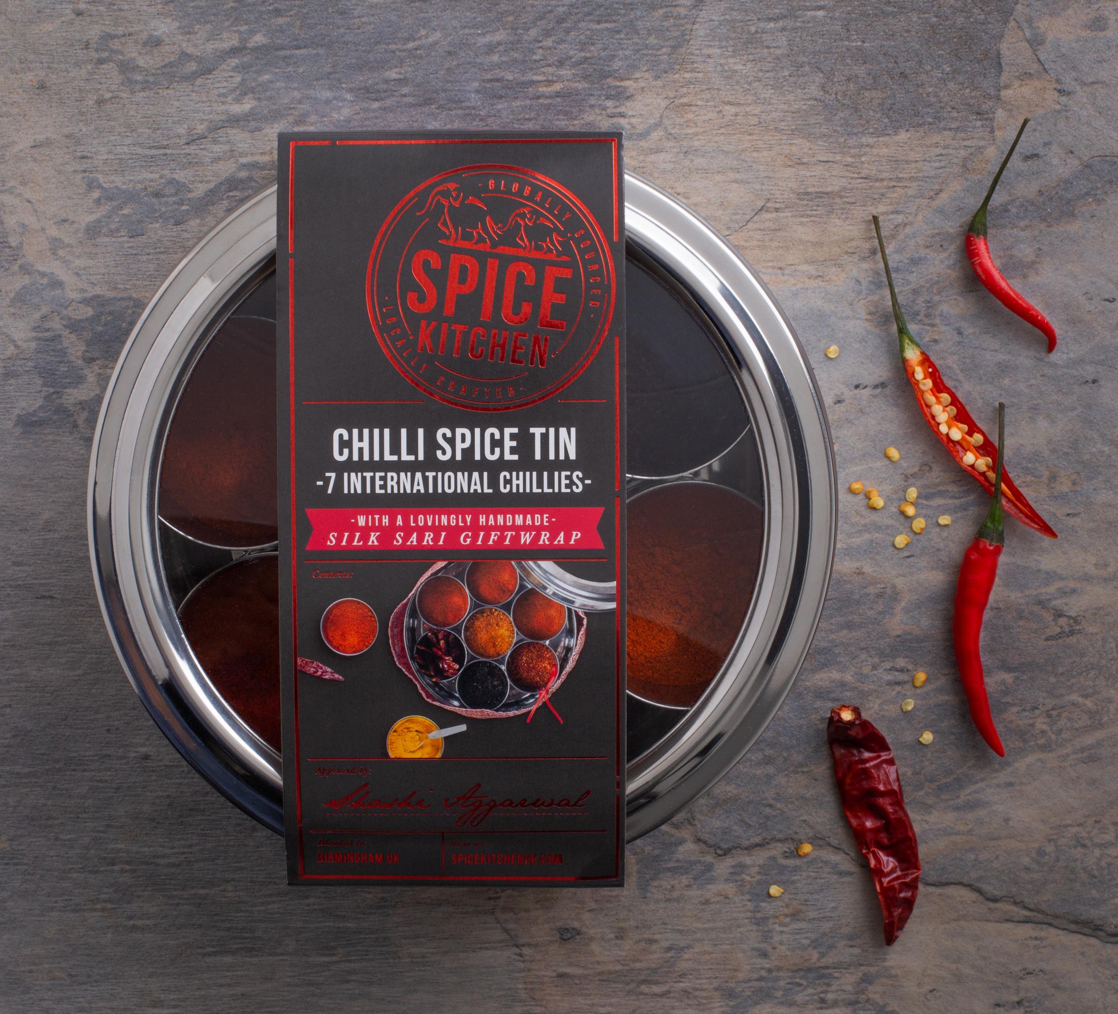 Spice Tin - Chilli Lover