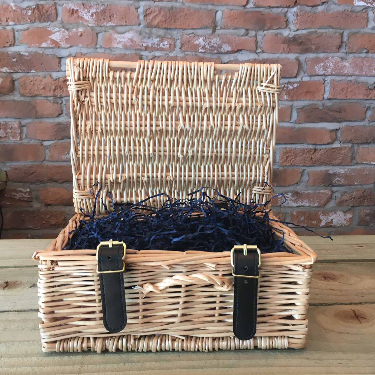 Small Wicker Suitcase - Select and build your own hamper!