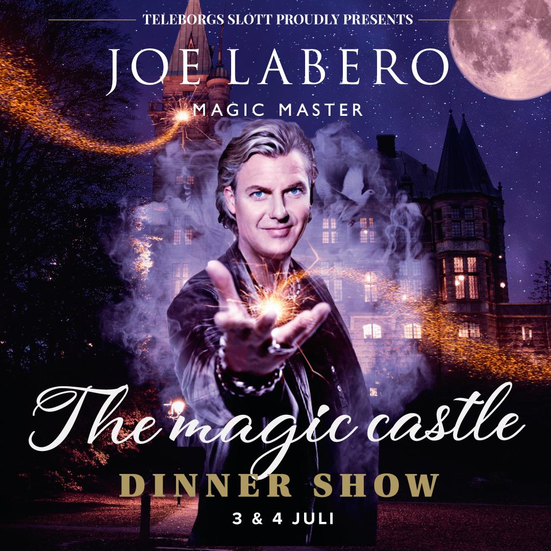Dinner show med Joe Labero, svit 2 personer