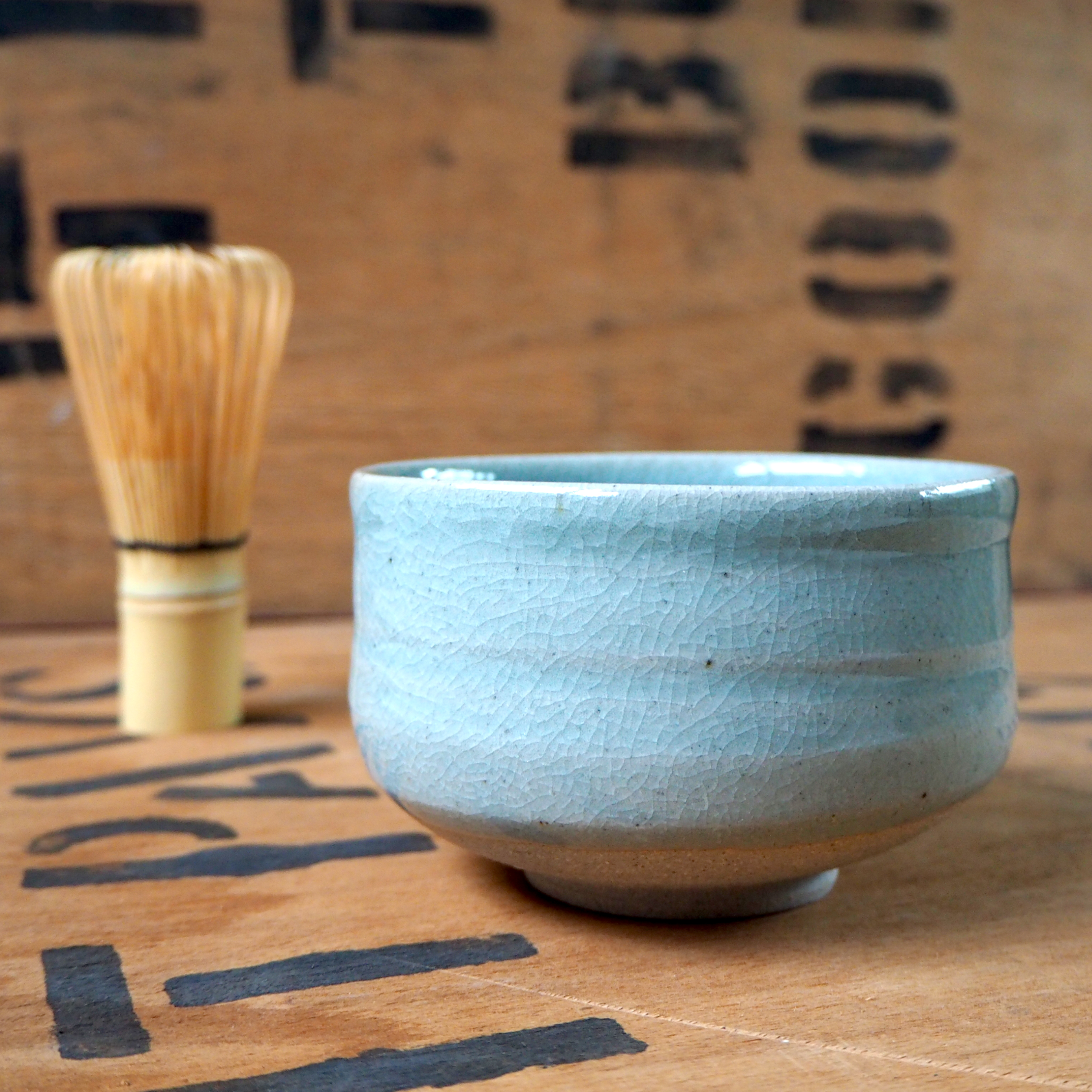 Celadon Matcha Bowl (2) by Jacob Bodilly