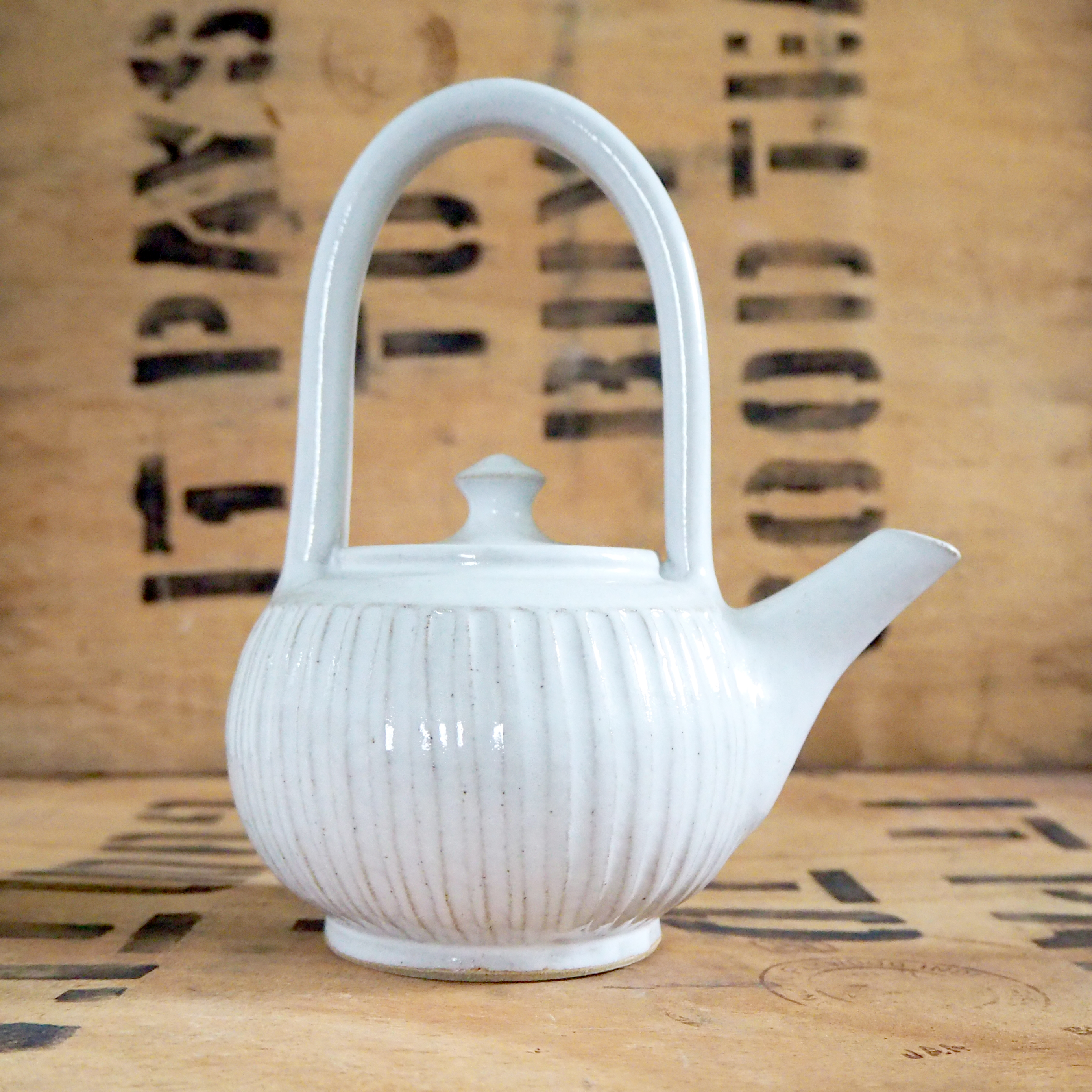 Fluted Teapot by Robyn Cove