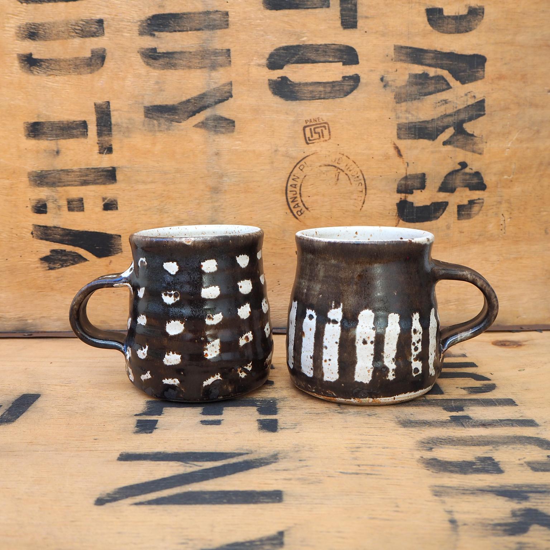 Mugs V & VI by Nicola Gillis