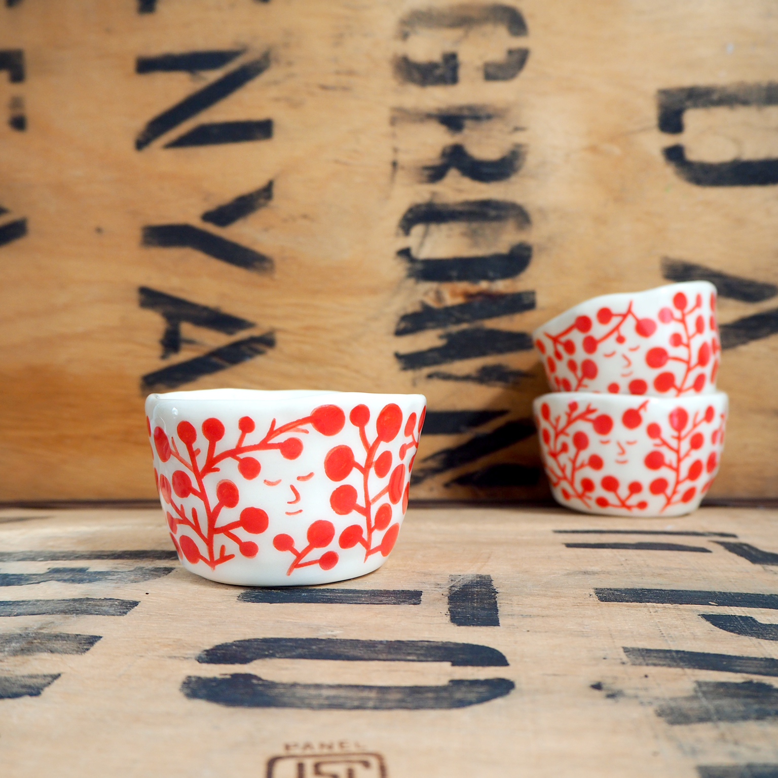 Red Flower Cup By Scotty Gillespie