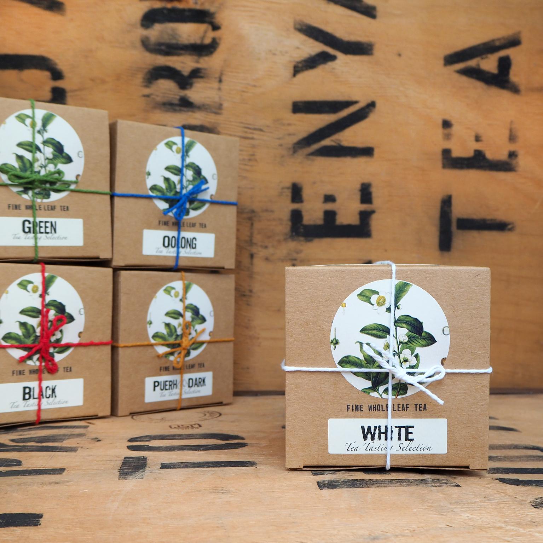 White Tea Tasting Selection