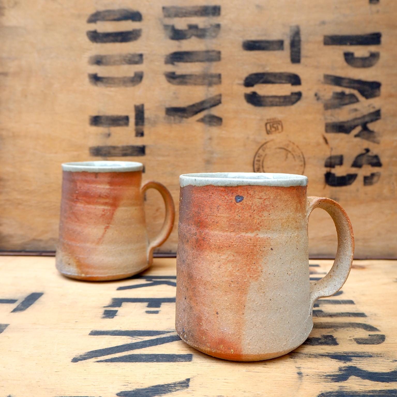 Wood Fired Mug by Charle Collier