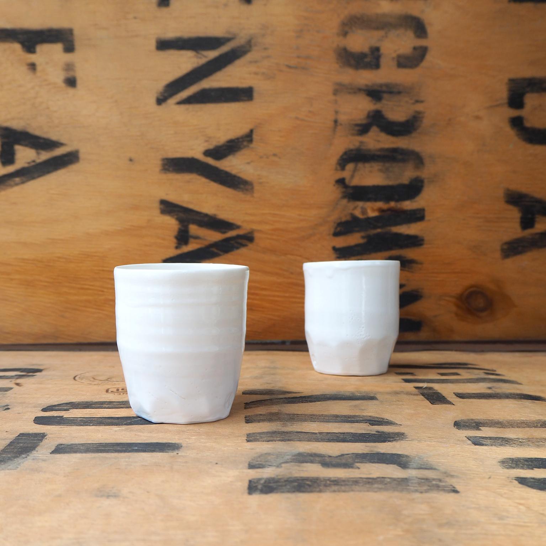Porcelain Small Beaker (1) by Anja Graefe