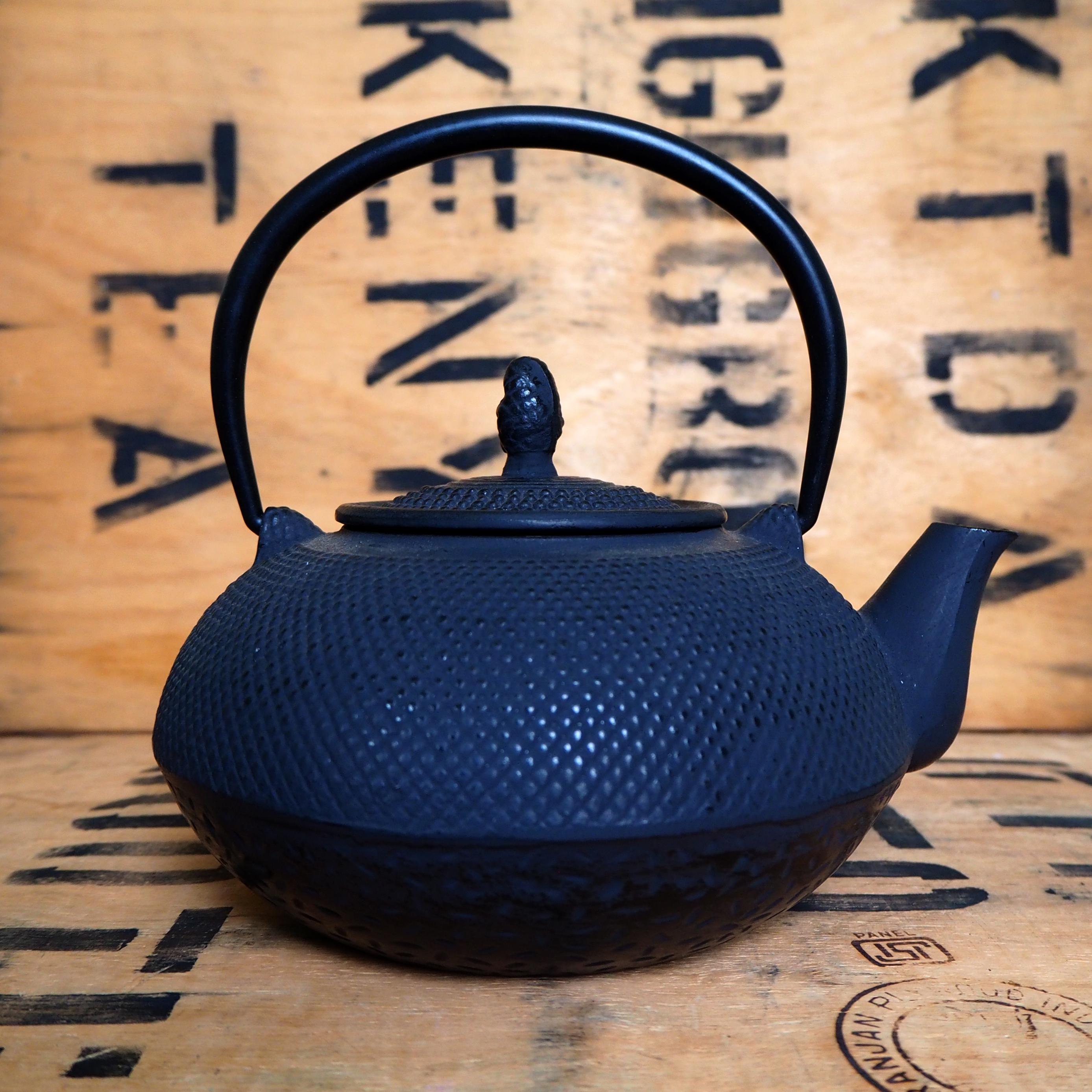 Cast Iron Teapot ~ 1.6l *Loose Handle*