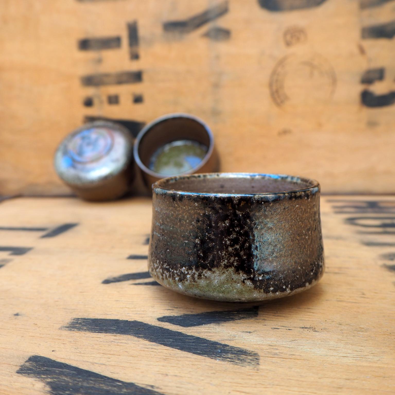Soda Fired Teabowl by Popalini & Jezando