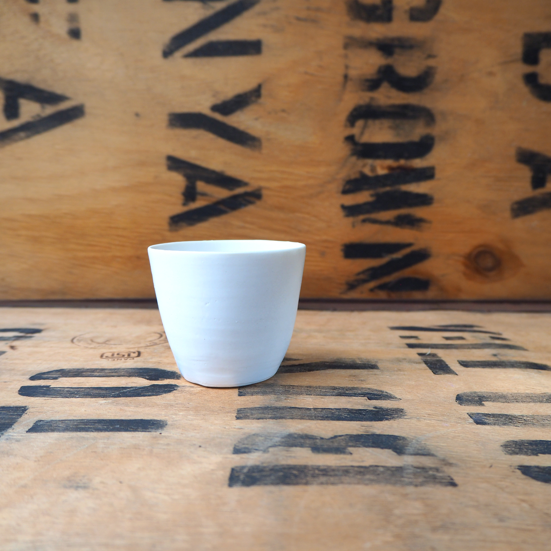 Porcelain Small Beaker (3) by Anja Graefe