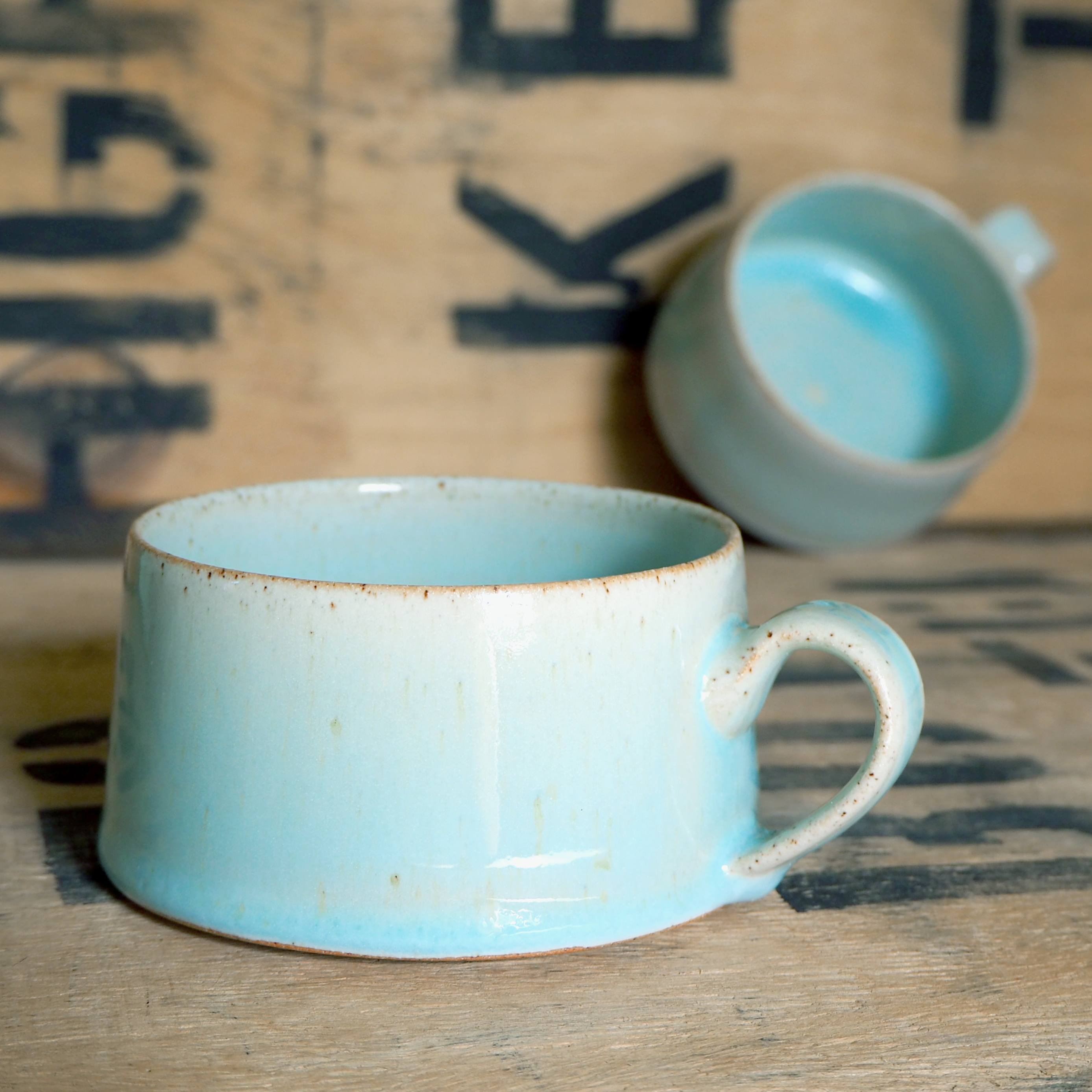 Turquoise Cup By Raphaela Seck