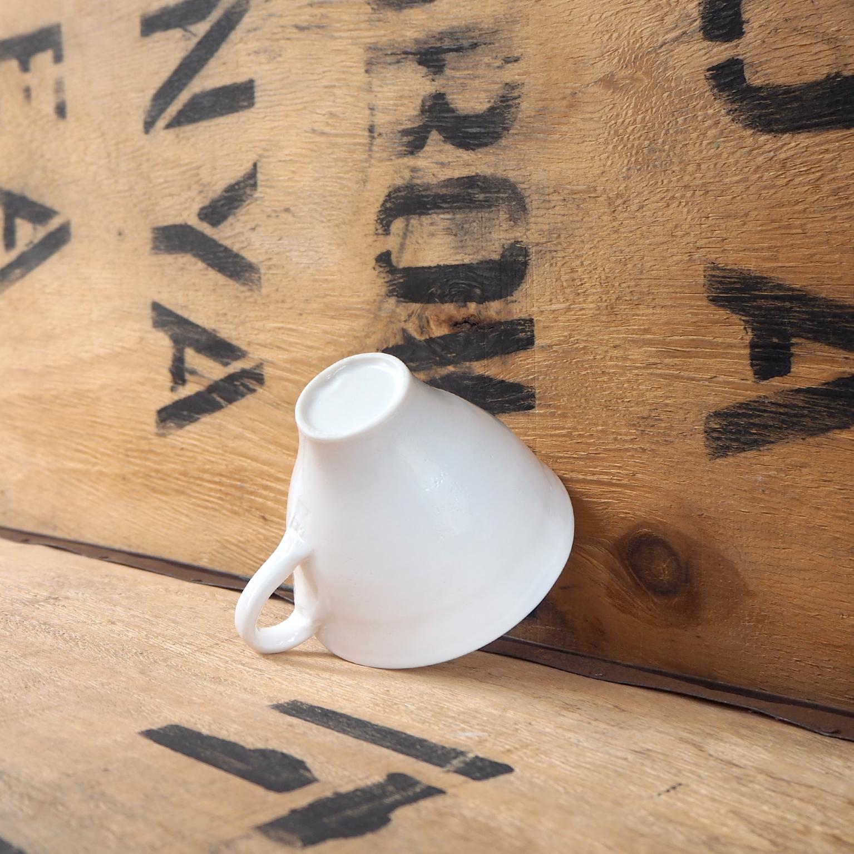 Porcelain Tea Cup by Anja Graefe