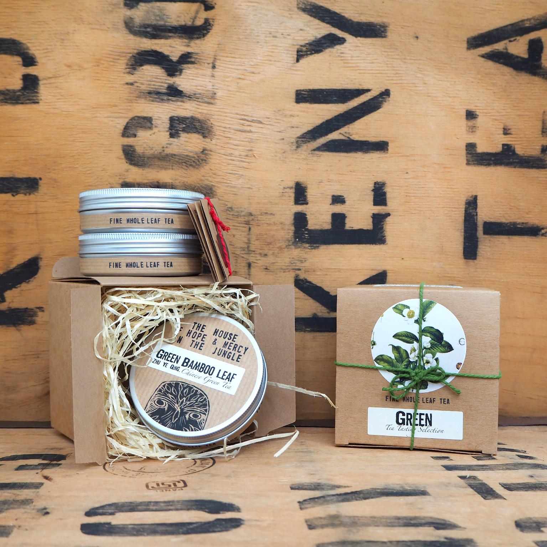 Green Tea Tasting Selection