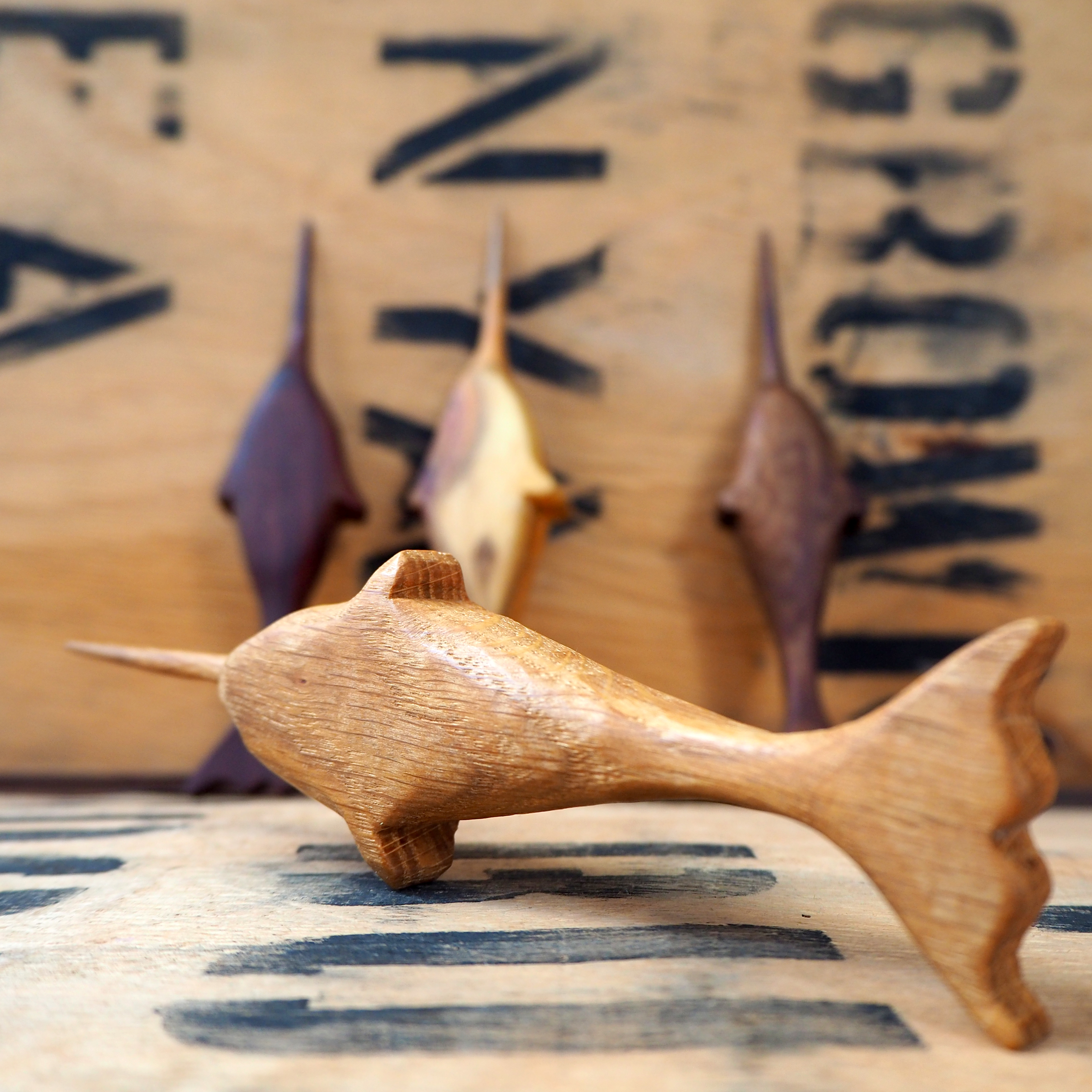 Oak Tea Ceremony Narwhal By Rosie Brewer