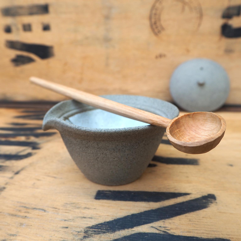 Long Handled Hazel Spoon by Takahashi McGil