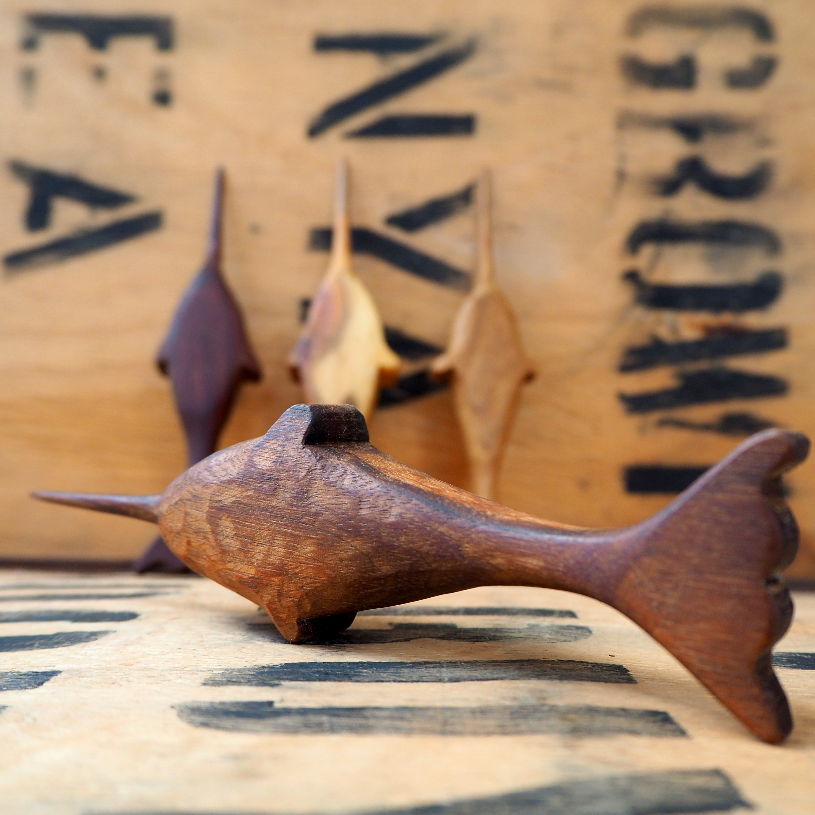 Tea Needle Narwhal by Rosie Brewer