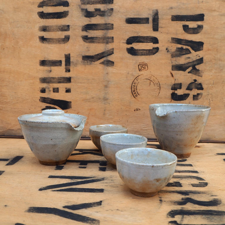 Shino Gong Fu Tea Set (1) by Popalini & Jezando