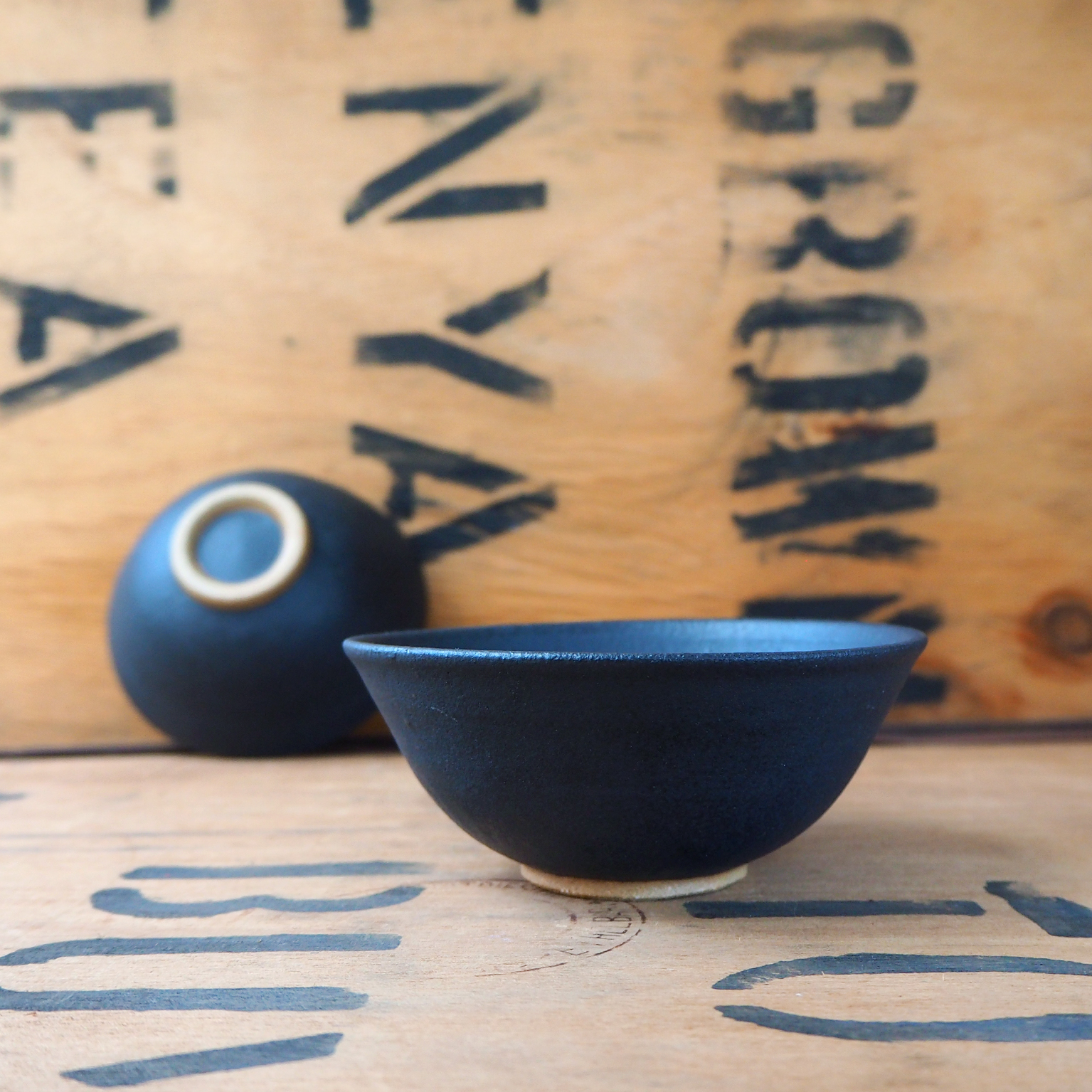 Black Tea Bowl by Popalini + Jezando