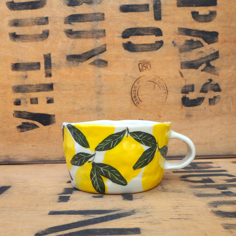 Lemon Mug by Som's Clay