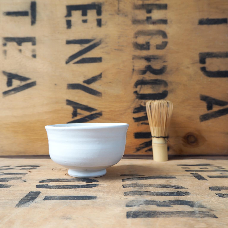 Porcelain Chawan by Anja Graefe
