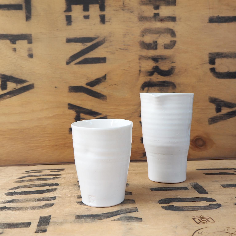 Porcelain Beaker by Anja Graefe