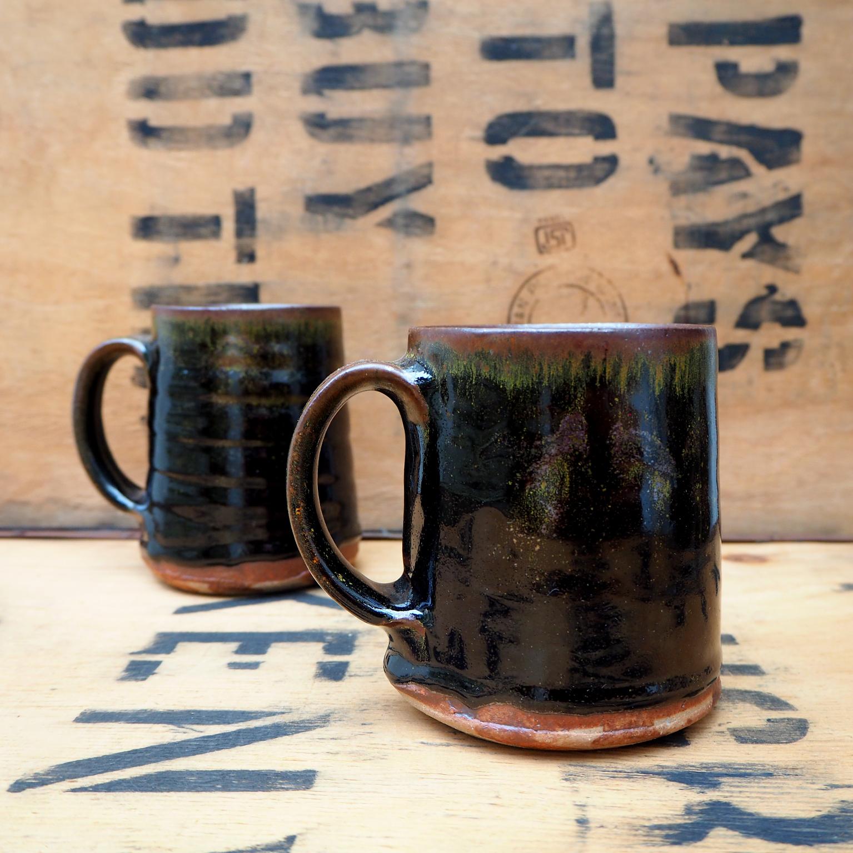 Tenmoku Mug by Charle Collier