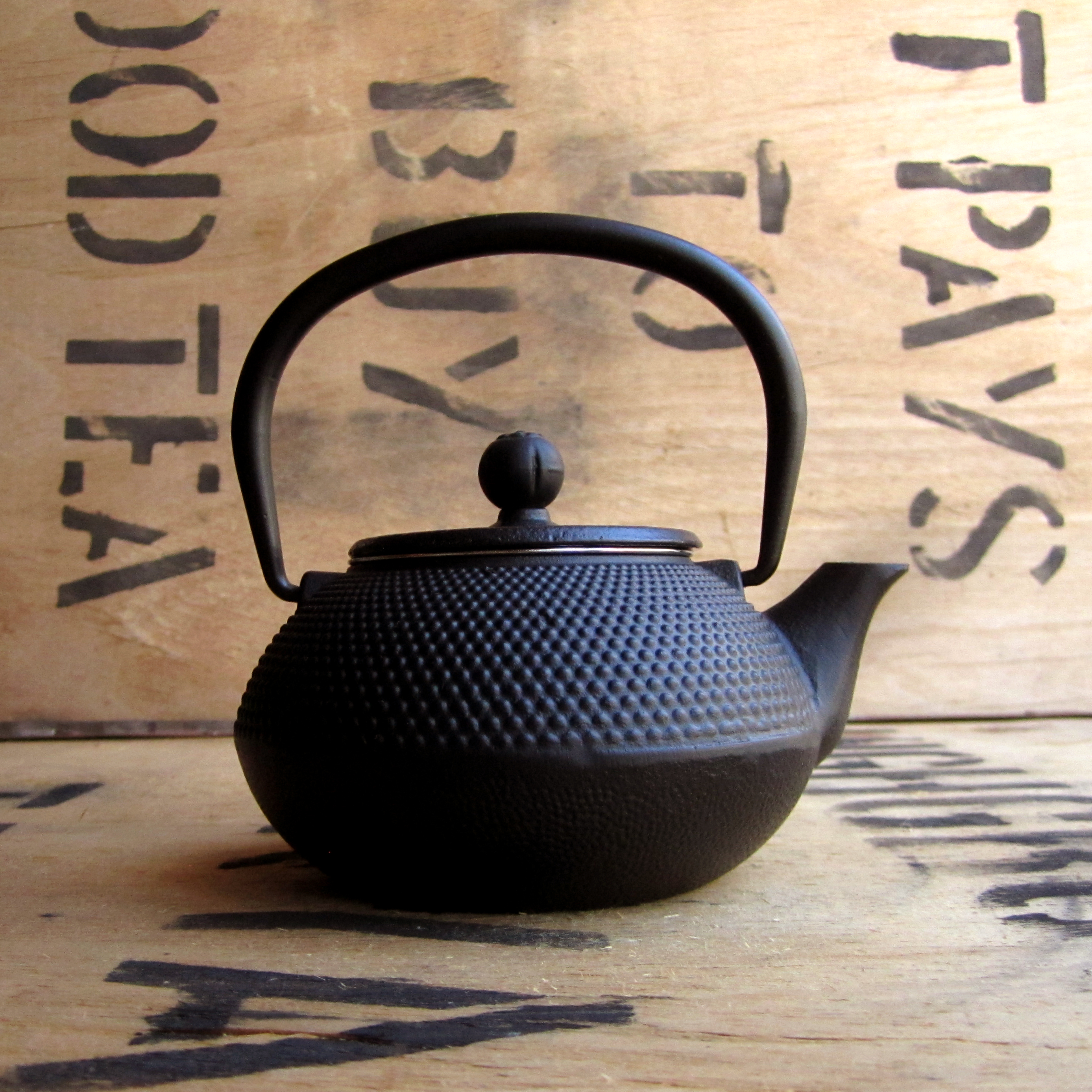 Cast Iron Teapot ~ 390ml