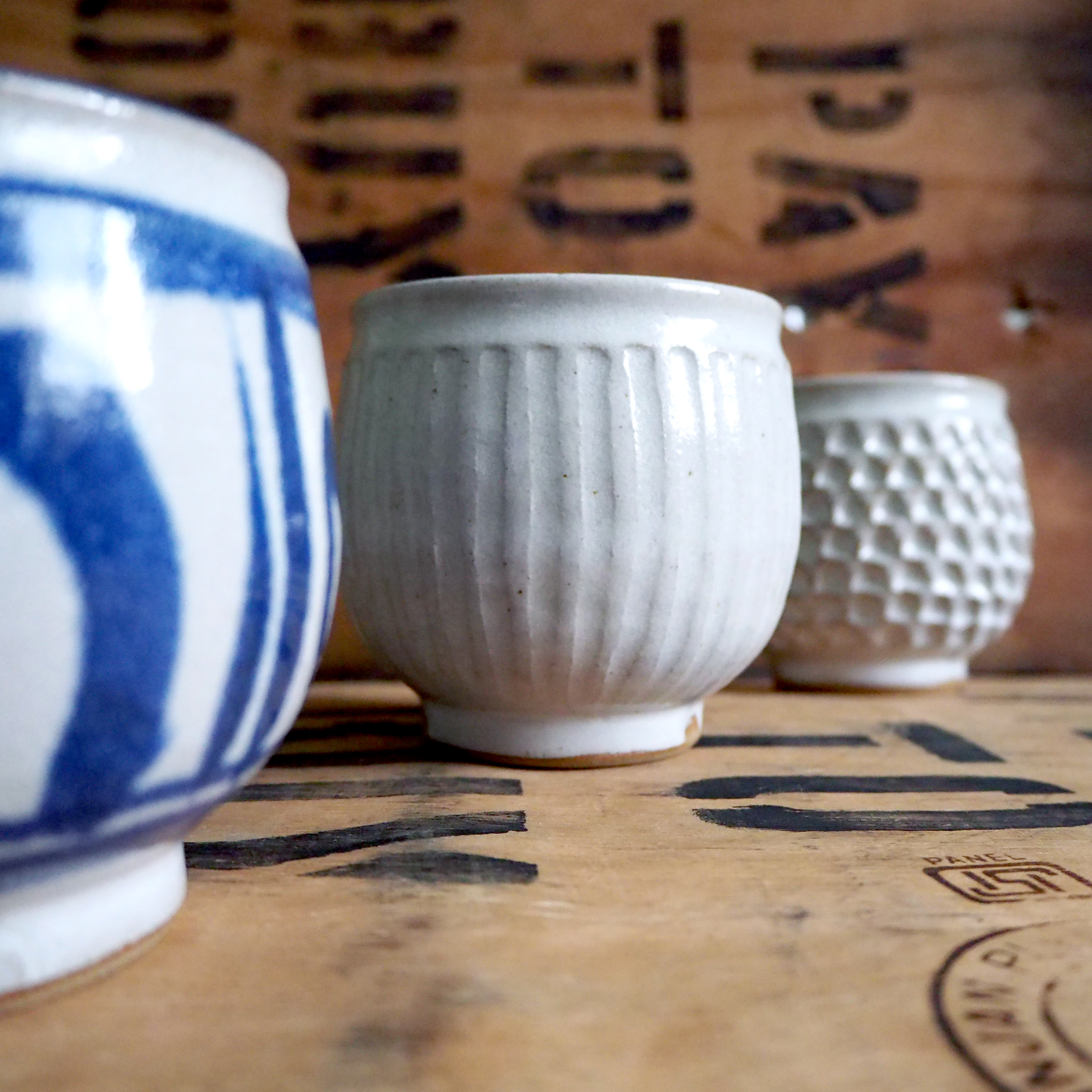 Fluted Yunomi Tea Cup By Robyn Cove
