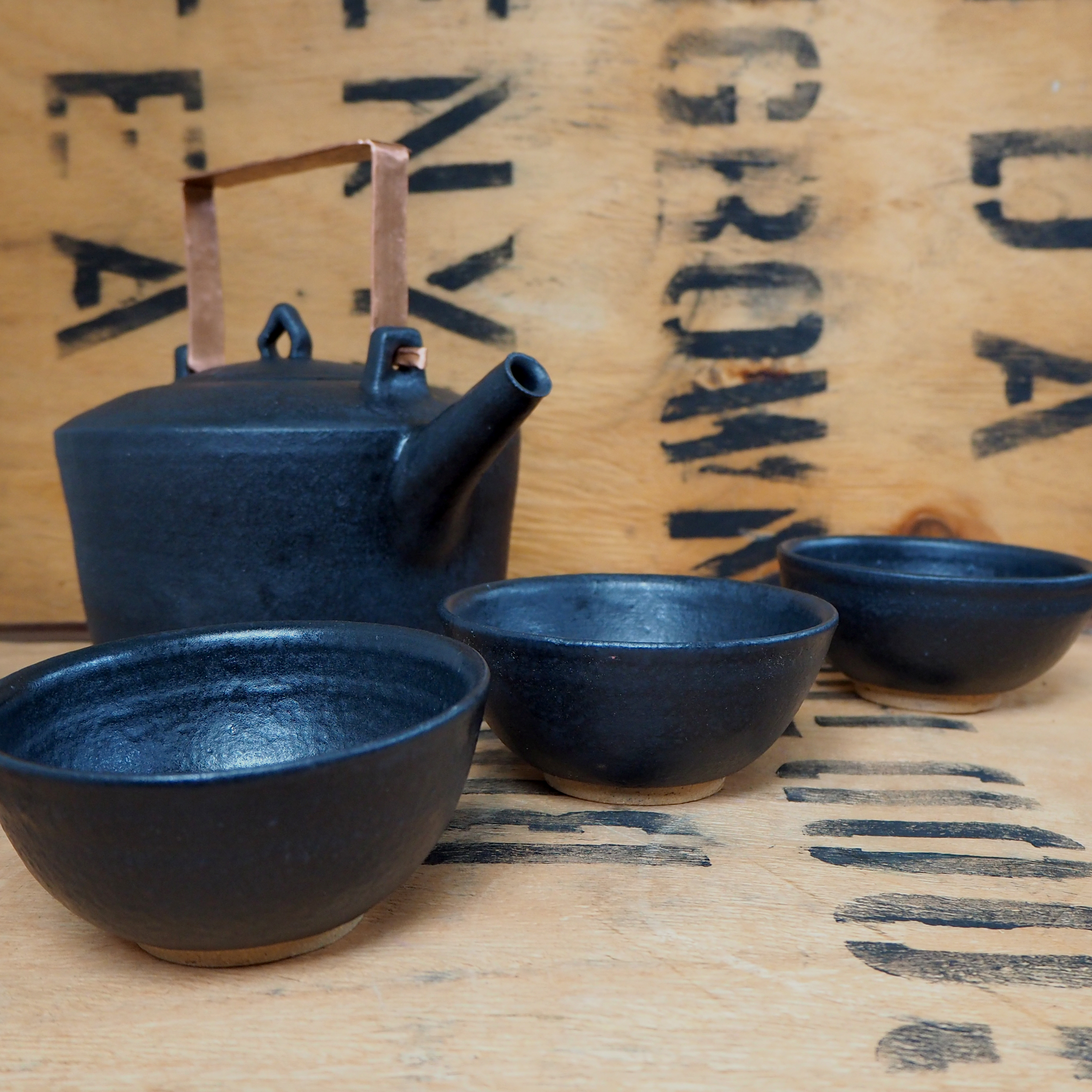 Tea Bowl by Popalini + Jezando