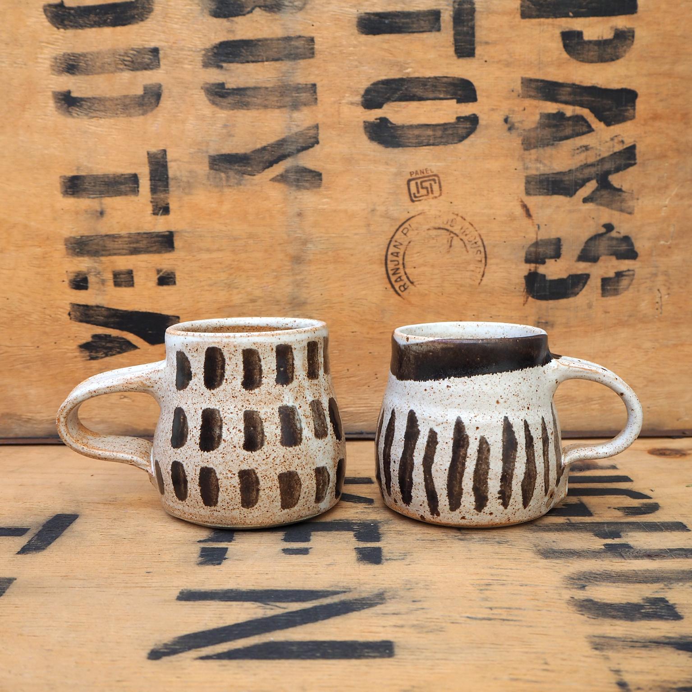 Mugs I & II by Nicola Gillis