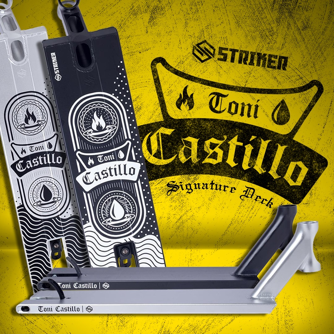 Striker Toni Castillo Wave Deck