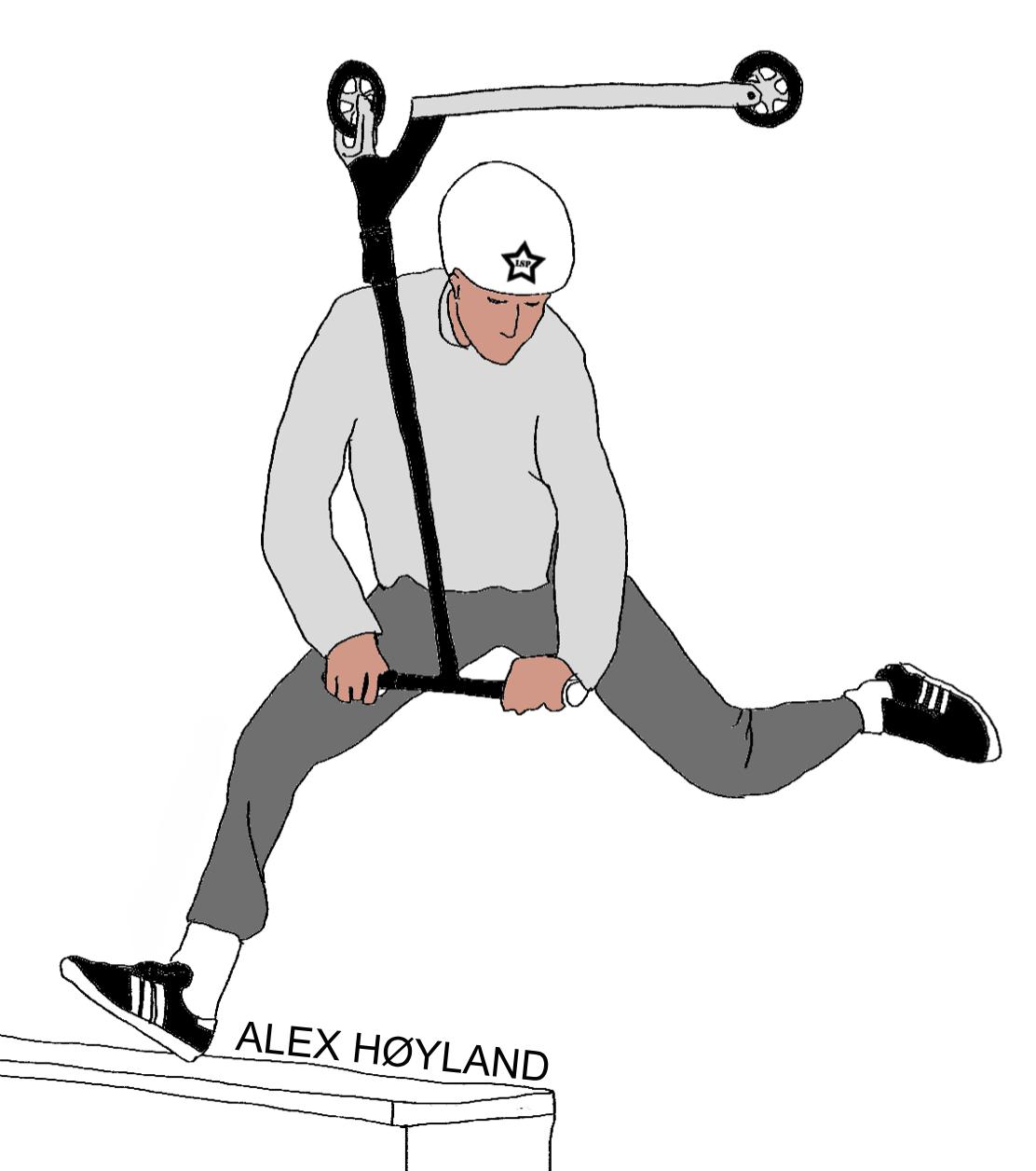 Alex Høyland Klistremerke 2020