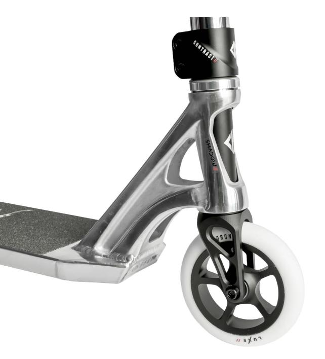 Drone Shadow II Polished Triksesparkesykkel