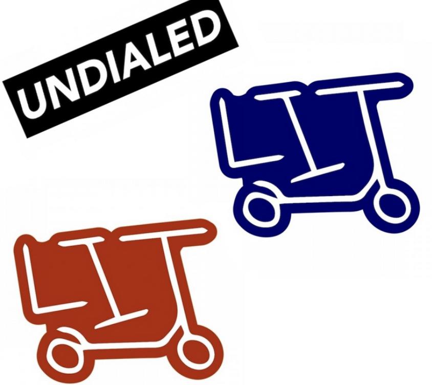 Undialed stickers