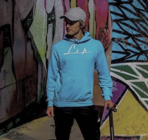 LSP Sky Blue Streetwear Sweater/Hettegenser