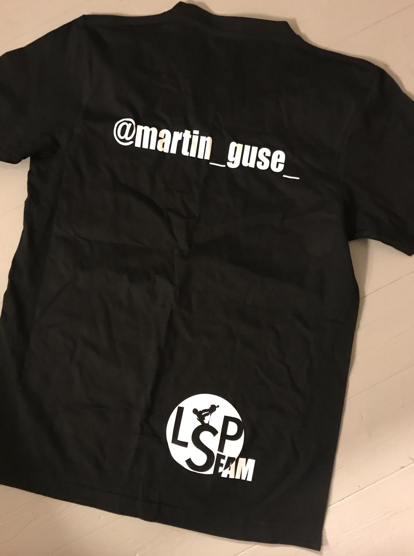 LSPfam T-shirt m Instanavn