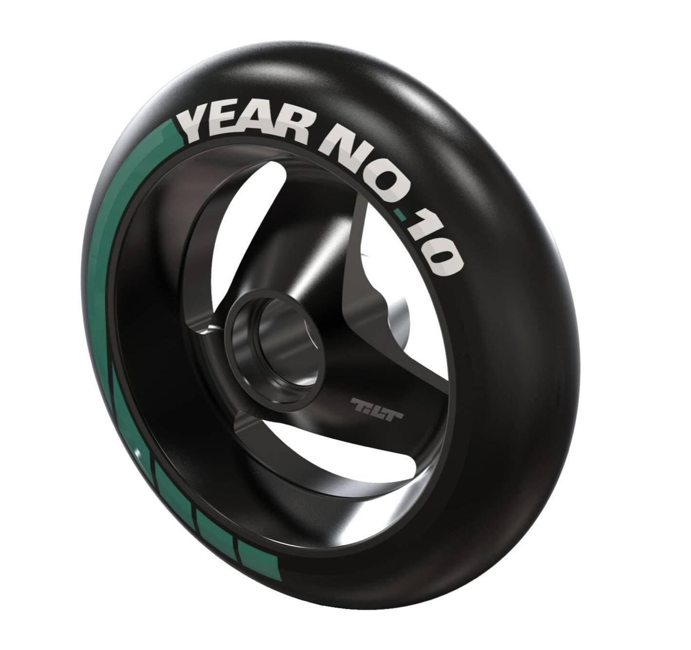 Tilt Ten Year 110 mm Hjul 2 stk