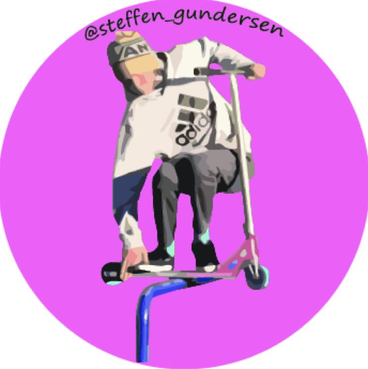 Steffen Gundersen Klistremerke