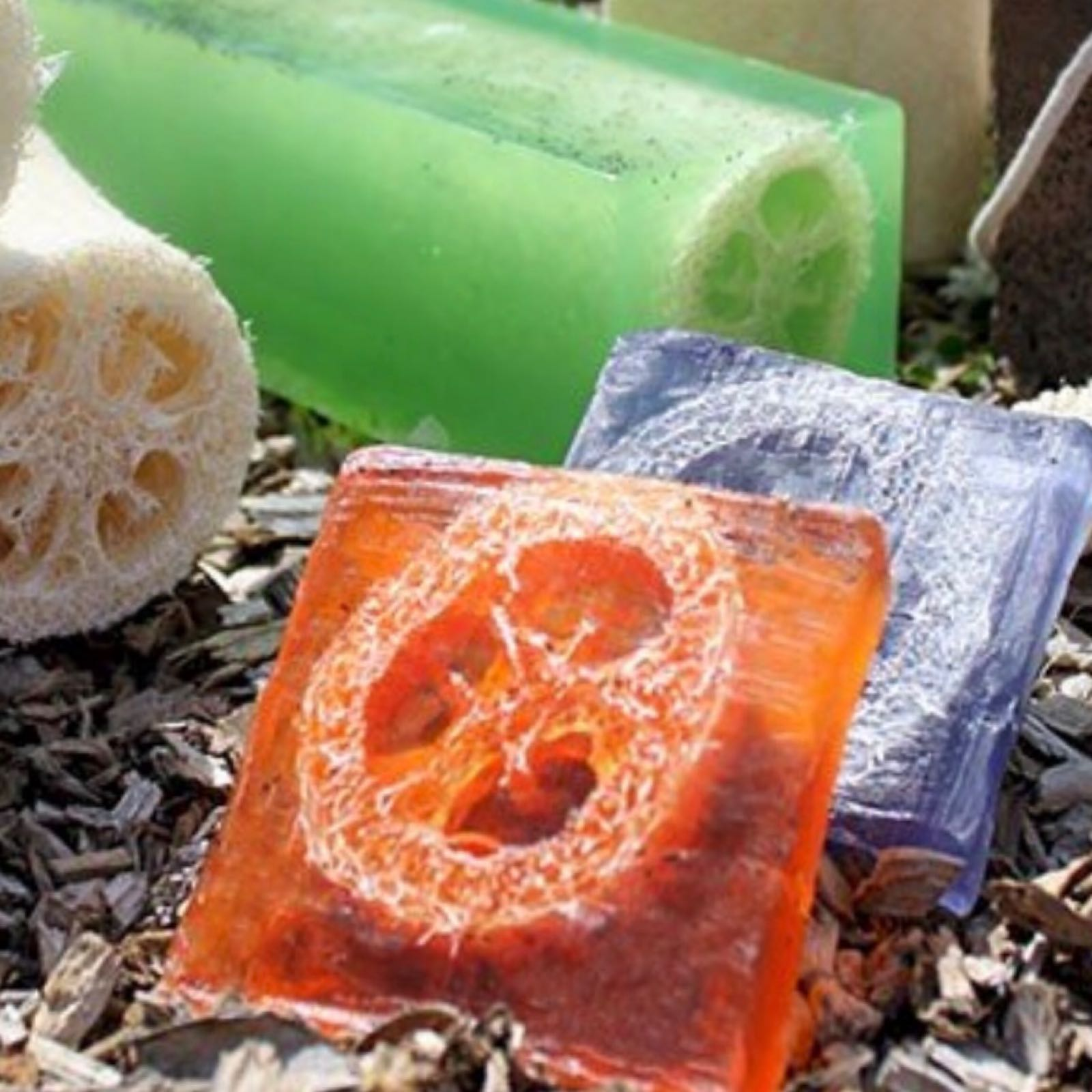 Loofah Soap Slice