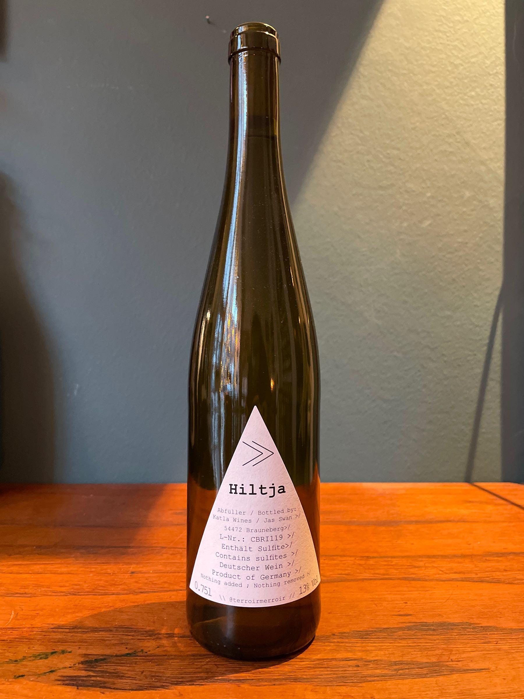 Hiljta - 2019 - Cabernet Blanc & Riesling -  Katla Wein