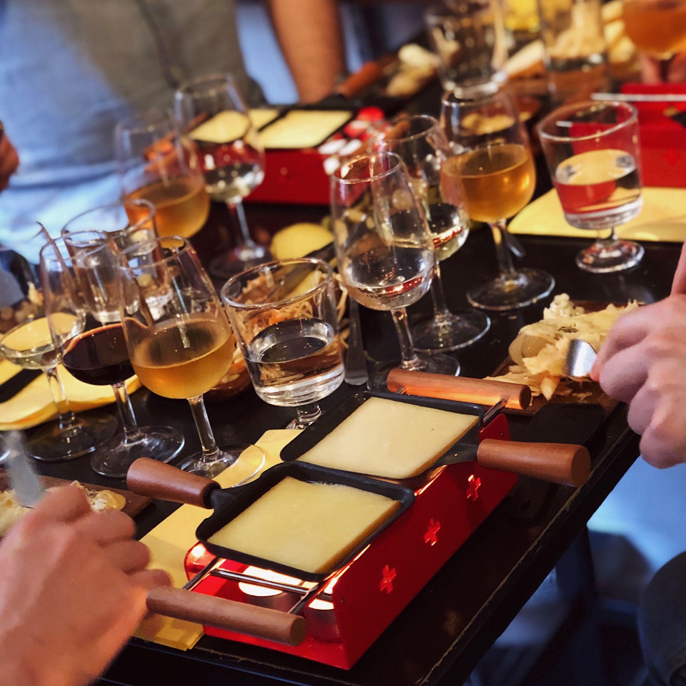 Raclette - Ta tills du skäms