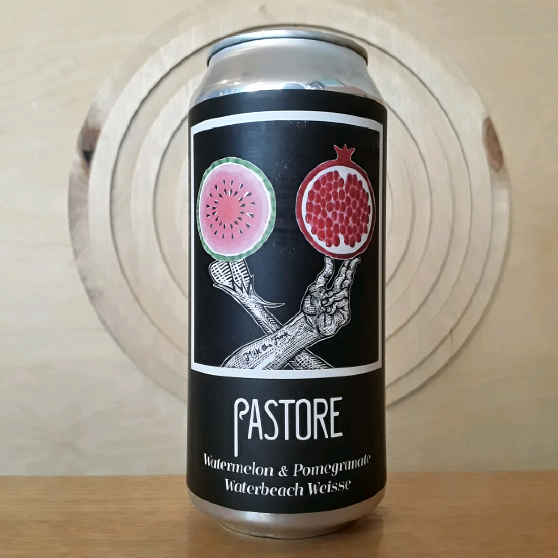 Pastore Brewing and Blending | Waterbeach Weisse Watermelon & Pomegranate | Sour - Fruited Berliner Weisse