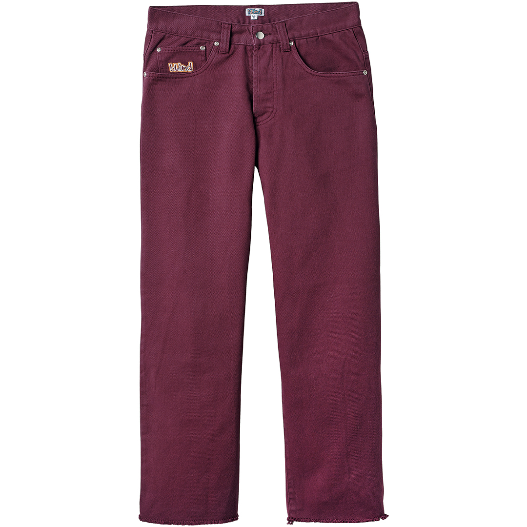 Blind Jeans Burgundy