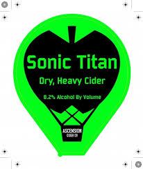 Ascension Cider - Sonic Titan
