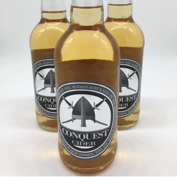 Hunt's Conquest Cider  500ml 4.8%