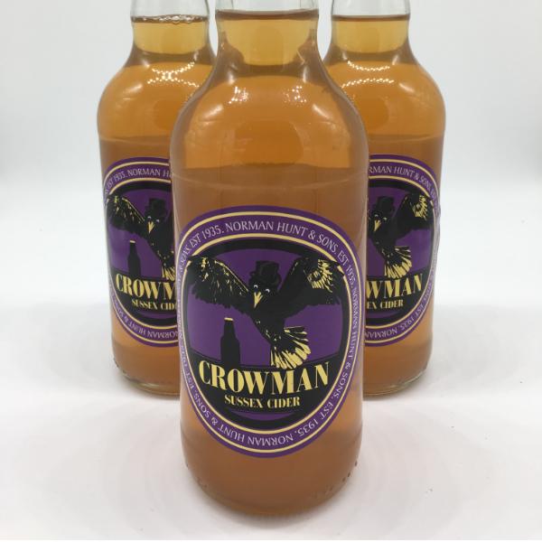 Hunt's Crowman Cider 500ml 6%